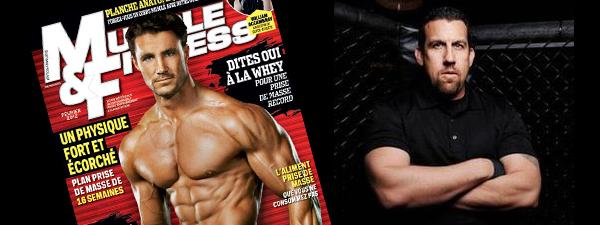 Big John McCarthy dans le Muscle & Fitness de février 2012