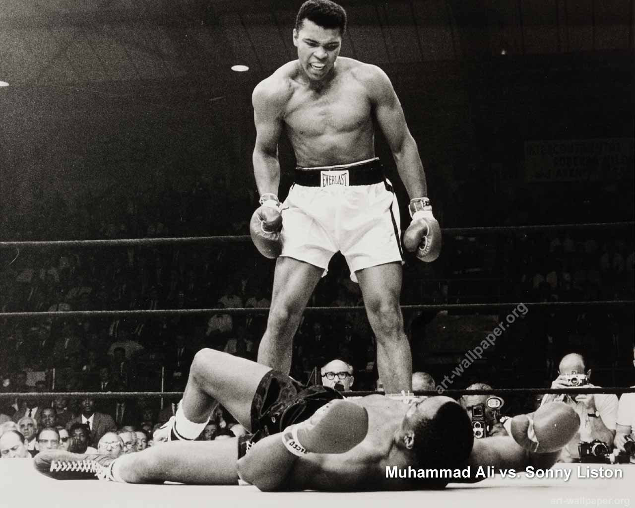 ali vs liston coloring pages - photo#4