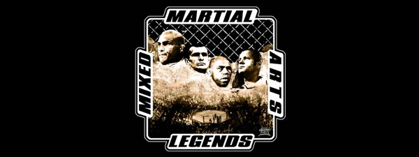 T-Shirt Mixed Martial Arts Legends