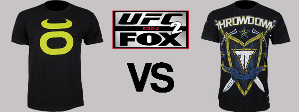 UFC on Fox 2 Walkout T-Shirts