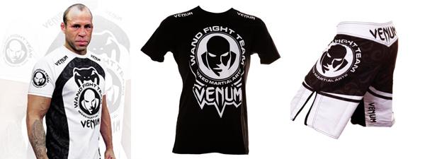 T-shirt et fightshort Venum Wanderlei Silva