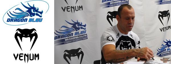 Rencontre avec Wanderlei Silva chez Dragon Bleu