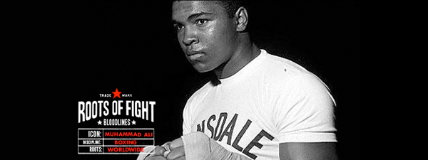 T-shirt Muhammad Ali Roots of Fight