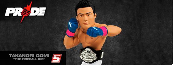 Takanori Gomi Figurine Round 5 PRIDE