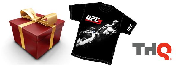 Jeu Concours : 5 t-shirts UFC Undisputed 3 à gagner!