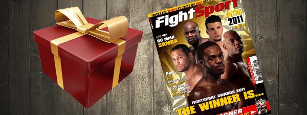 Jeu Concours : 4 magazines Fightsport à gagner !!