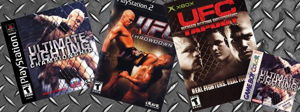 Dossier : les jeux rétro UFC