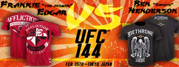 UFC 144 Walkout T-Shirts