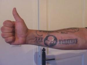 Mma fan tattoos globe mma for Wanderlei silva tattoo