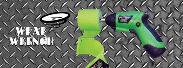Wrap Wrench : l'enrouleur de bandes