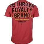 Dethrone Smooth Ben Henderson training shirt2