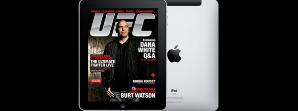 UFC Magazine sur Ipad