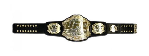 La ceinture UFC