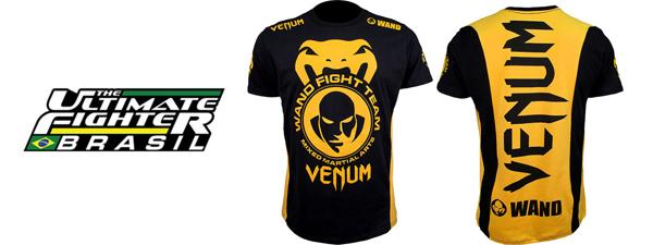 TUF Brazil t-shirts Venum Wanderlei Silva