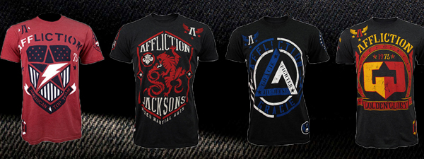 Affliction T-shirts Teams