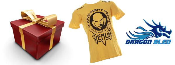 """Jeu Concours 2 t-shirts Venum """"Wand Fight Team"""" à gagner : Les gagnants"""