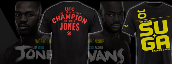 UFC 145 : Jones & Evans fightwear recap