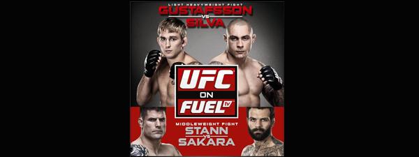 UFC on Fuel TV 2 : Musiques d'entrée des combattants