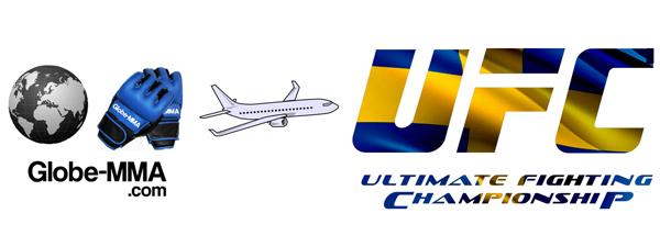UFC on Fuel TV 2 Stockholm : Le Départ