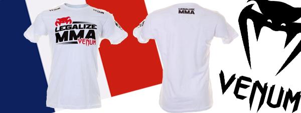 T-shirt Venum Legalize MMA