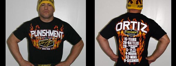 T-shirt Tito Ortiz UFC 148