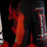 Spider Instinct fightshort french MMA fighter