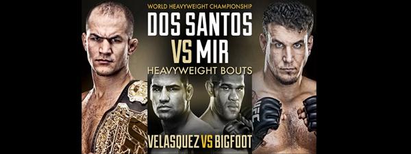 UFC 146 : Musiques d'entrée des combattants
