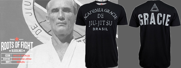 Roots of fight academia gracie de jiu-jitsu
