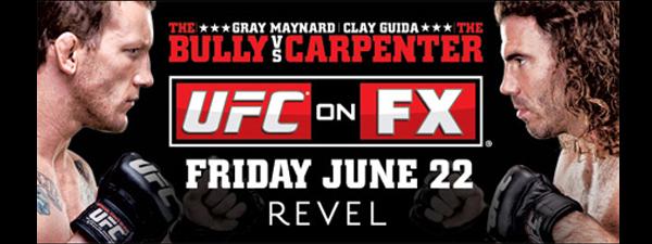 UFC on FX 4 : Musiques d'entrée des combattants