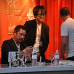 Interview Saruwatari Virgin Megastore Paris Tough Free Fight (17)