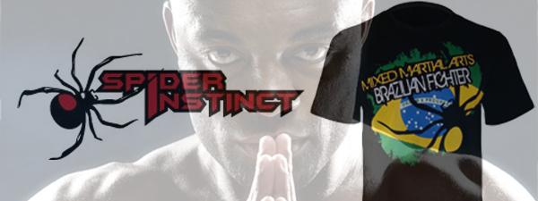 T-Shirt Brazilian Fighter Spider Instinct