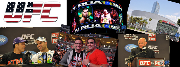 Reportage UFC on Fox Shogun vs Vera / Part 2