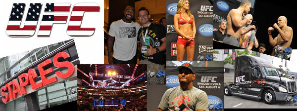 Reportage UFC on Fox Shogun vs Vera / Part 1