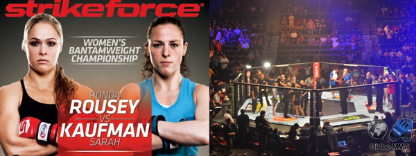 Strikeforce Rousey vs Kaufman : le reportage