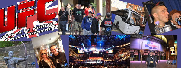 Reportage UFC Nottingham Struve vs Miocic (part2/2)