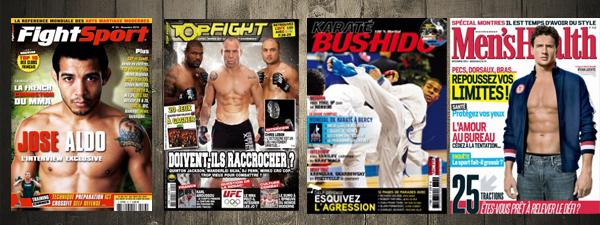 La revue de presse de Globe-MMA (novembre 2012)
