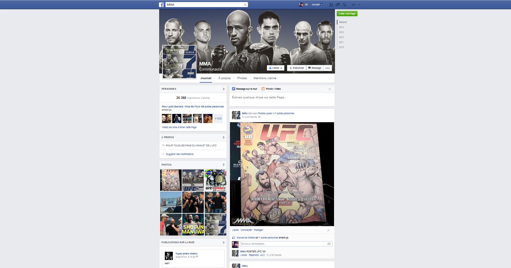 MMA-Facebook