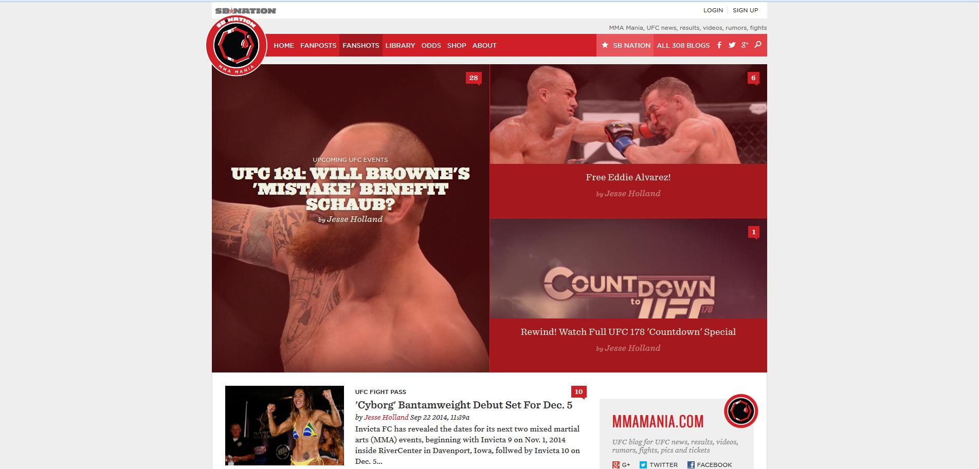 MMA-Mania