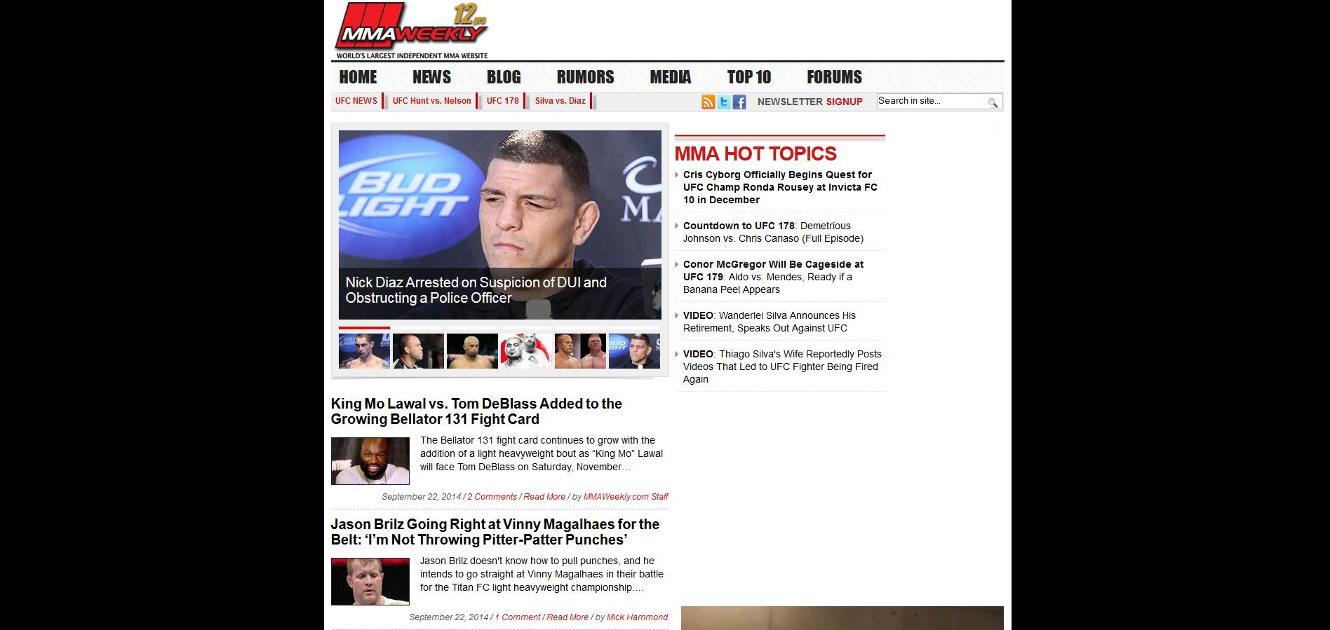 MMA-Weekly