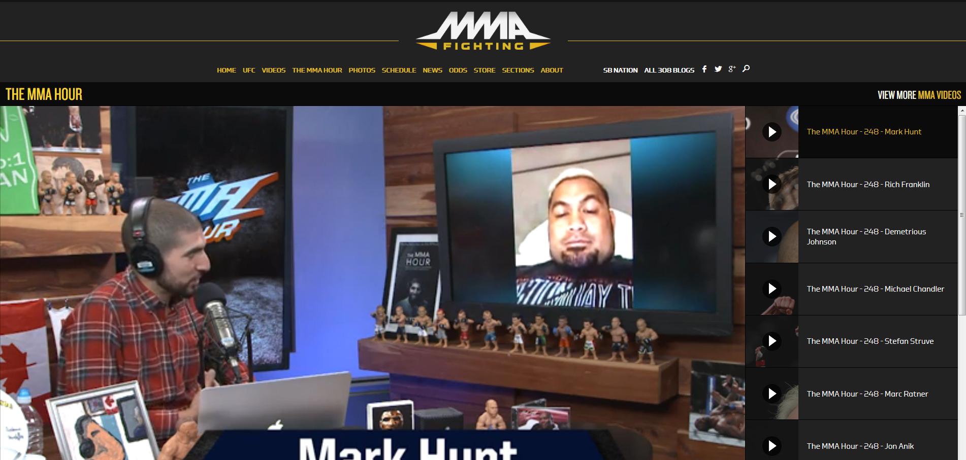 MMA-hour
