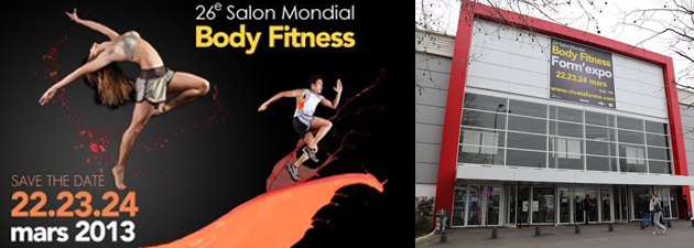 Body Fitness Form' Expo 2013 banniere