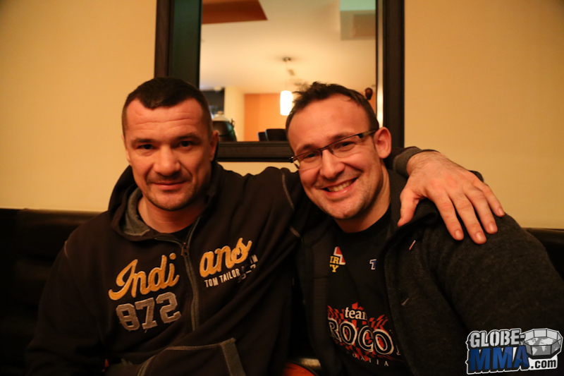 Interview Mirko CroCop Filipovic à Zagreb (6)