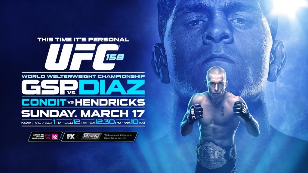 UFC 158 FOXSPORTS 16x9