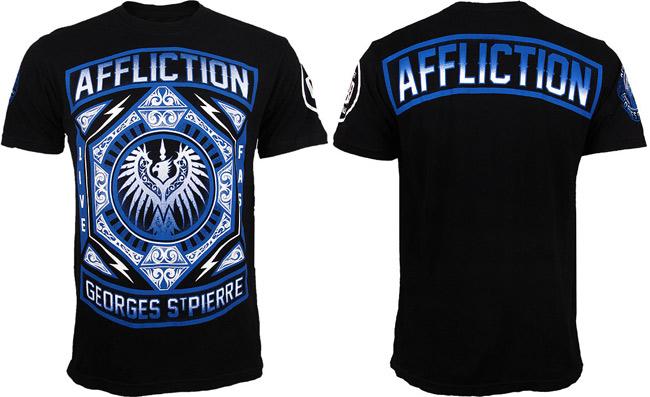 gsp-affliction-ufc-158-shirt-noir