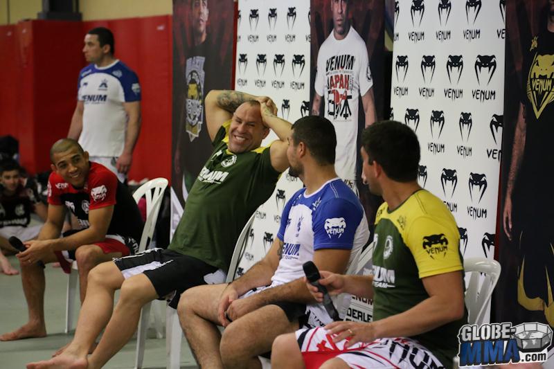 Stage Venum Team Ronchin Wanderlei Silva Shogun Jose Aldo (111)