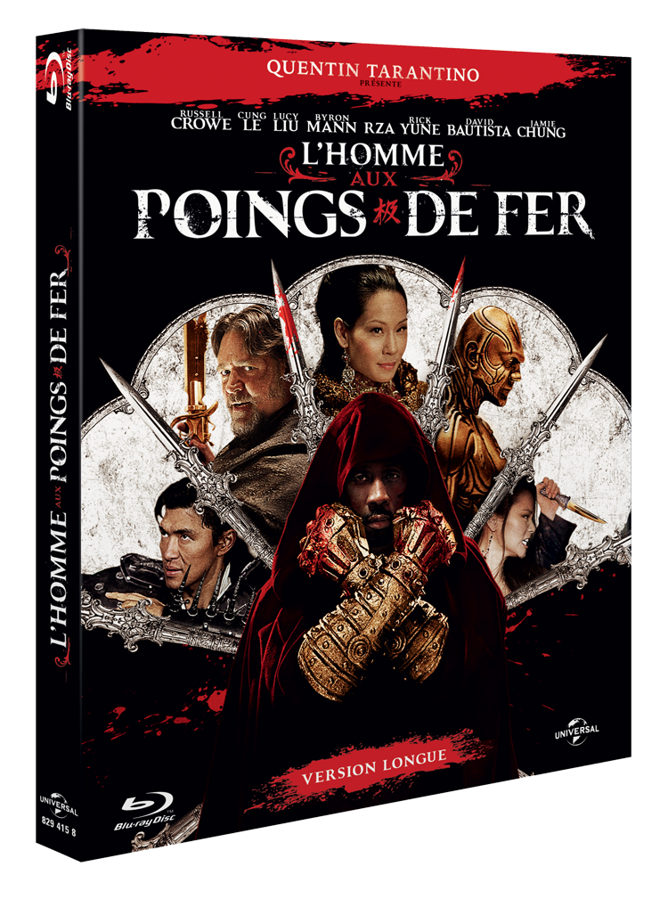 Bluray-L'Homme aux Poings de Fer