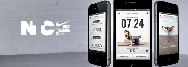Nike-Training-Club-Application