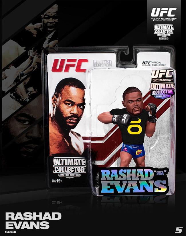 Round 5 Rashad Evans