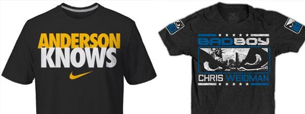 UFC162-walkout-tshirts