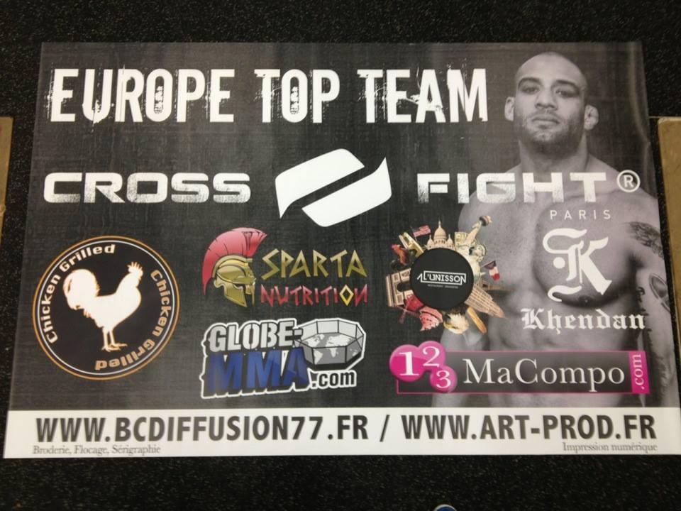 Bannière Norman Paraisy SHC 8 Globe MMA